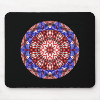 Red White Blue Mouse Pad