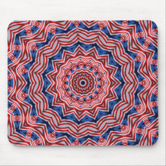 Red, white & blue mousepad. mouse pad