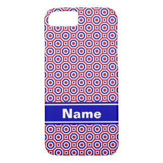 Red/White/Blue Nested Octagons Case