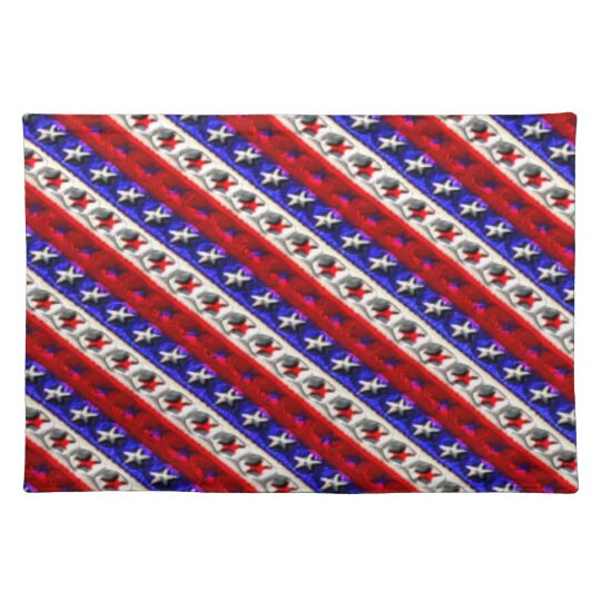 Red White & Blue Place mat