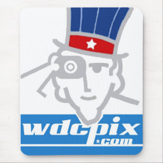 Red, White + Blue Sam WDCPIX.COM Mouse Pad