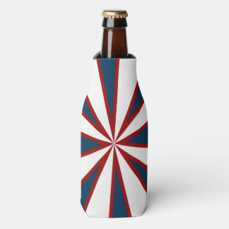 Red, White & Blue Starburst Cooler