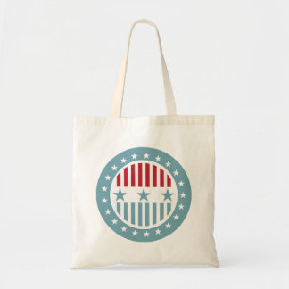 Red White & Blue Stars 4th of July Tote Bag