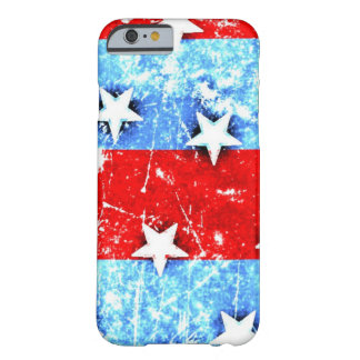 Red White Blue Stars Stripes Barely There iPhone 6 Case
