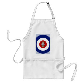 Red White & Blue Teddy Bear Standard Apron