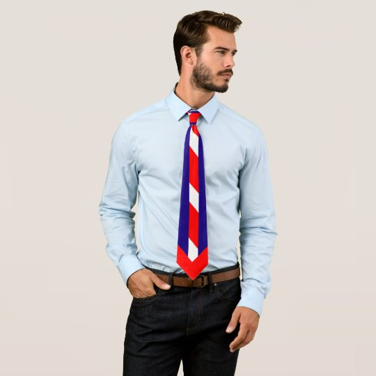 Red White & Blue (USA Colours) Tie