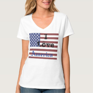Red White Blue USA Flag Patriotic Liberty Tshirt 5