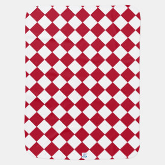 Red & White Checks Checkered Buggy Blankets