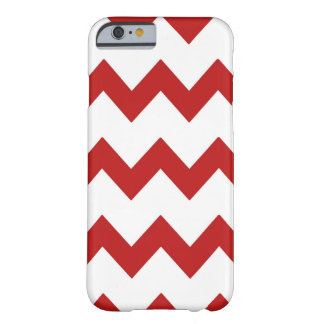 Red White Chevrons Case Barely There iPhone 6 Case