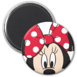 Red & White Minnie 2 Magnets