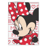 Red & White Minnie 3 Cards