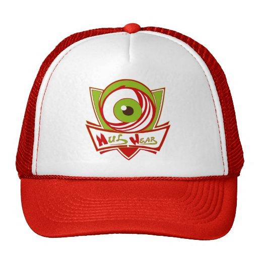 Red & White MulWear Logo Cap Trucker Hats