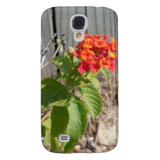 Red Wildflower Galaxy S4 Case