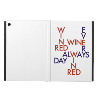 Red wine cover for iPad air