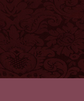 Red Wine Damask Weave Look Shirts