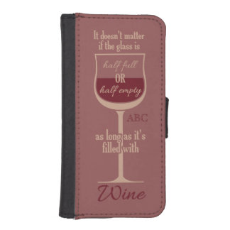 Red Wine Glass custom monogram cases