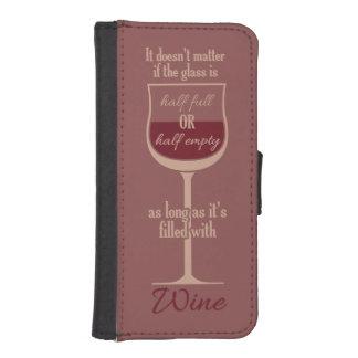 Red Wine Glass custom phone wallets