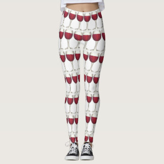 Red Wine Glass Glasses Merlot Cabernet Wines Food Leggings