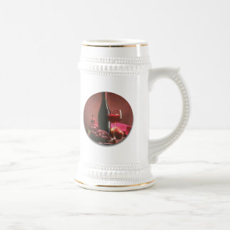 Red Wine & Grapes Coffee Mugs