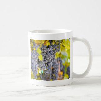Red Wine Grapes on the Vine Coffee Mug
