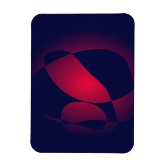 Red Wine in a Dark Bottle Magnet