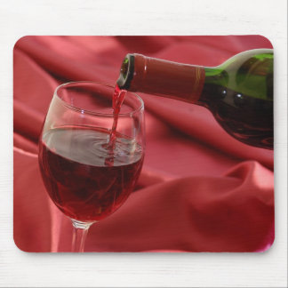 Red Wine Mouse Mat