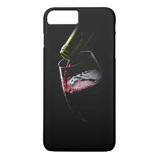 Red Wine Photo | Black iPhone 7 Plus Case