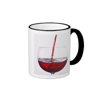 Red Wine Ringer Mug