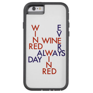 Red wine tough xtreme iPhone 6 case