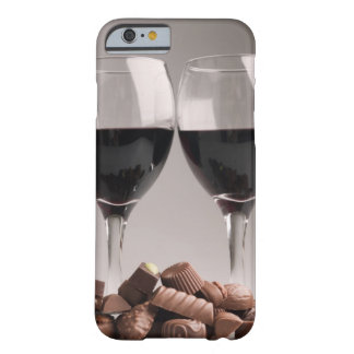red wine with chocolates barely there iPhone 6 case