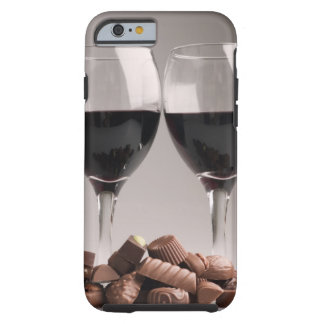 red wine with chocolates tough iPhone 6 case