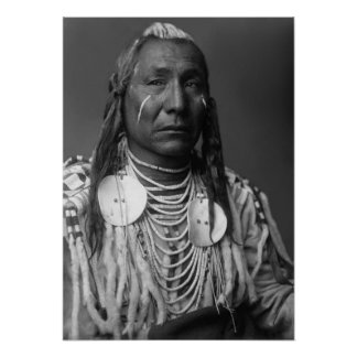 Red Wing (Native American Man) Poster