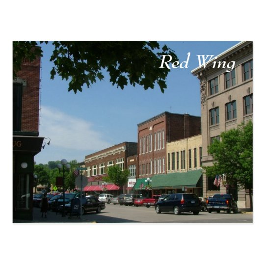 Red Wing Postcard