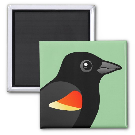 Red-winged Blackbird Magnet