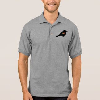Red-winged Blackbird Polo Shirt
