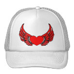 Red Winged Hearts