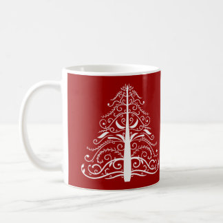 Red Winter Wedding Coffee Mug