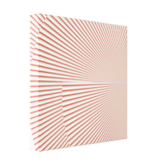 red wire canvas print