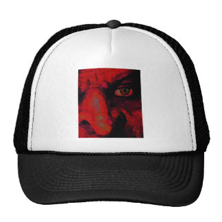 RED WITCH S NOSE TRUCKER HATS