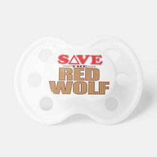Red Wolf Save Dummy