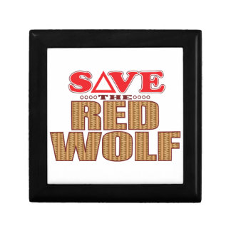 Red Wolf Save Gift Box