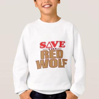 Red Wolf Save Sweatshirt