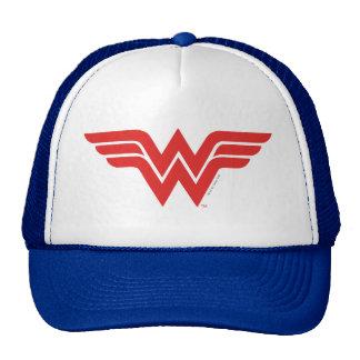 Red Wonder Woman Logo Cap