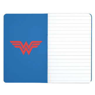 Red Wonder Woman Logo Journal