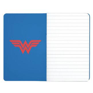 Red Wonder Woman Logo Journals