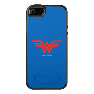 Red Wonder Woman Logo OtterBox iPhone 5/5s/SE Case