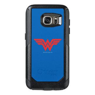 Red Wonder Woman Logo OtterBox Samsung Galaxy S7 Case