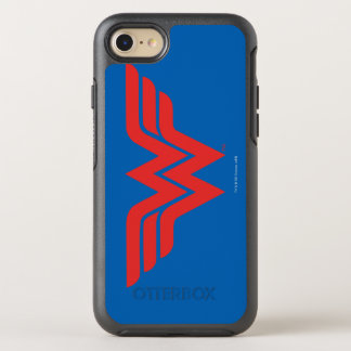 Red Wonder Woman Logo OtterBox Symmetry iPhone 8/7 Case