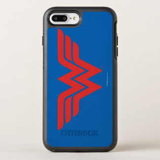 Red Wonder Woman Logo OtterBox Symmetry iPhone 8 Plus/7 Plus Case