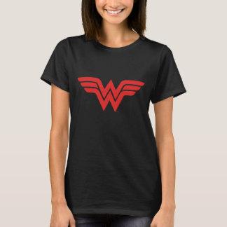 Red Wonder Woman Logo T-Shirt